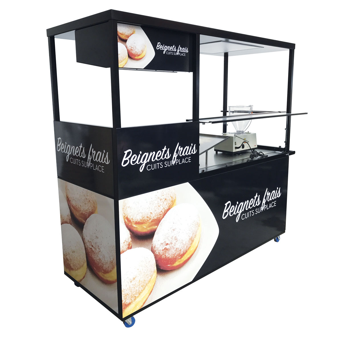 Concept for jam and ring doughnuts