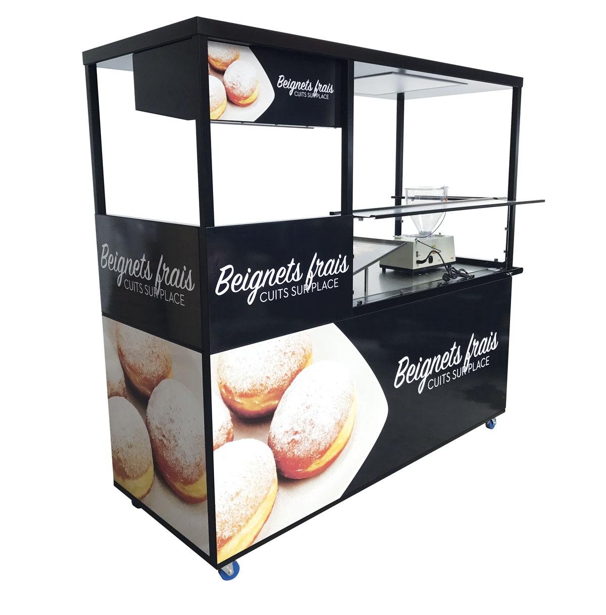 Concept pour beignets et donuts